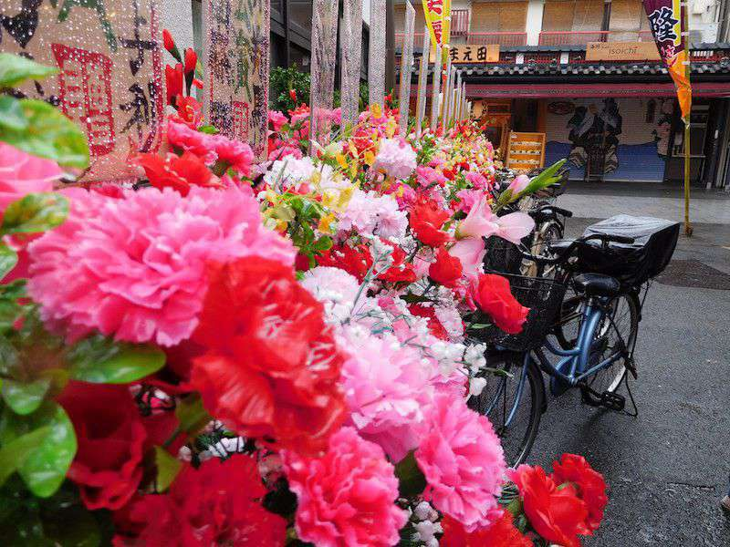 Asakusa's colourful back streets