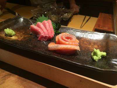 Enjoy fabulous sushi in Shibuya, Tokyo at the impressive but good value Gonpachi Sushi restaurant