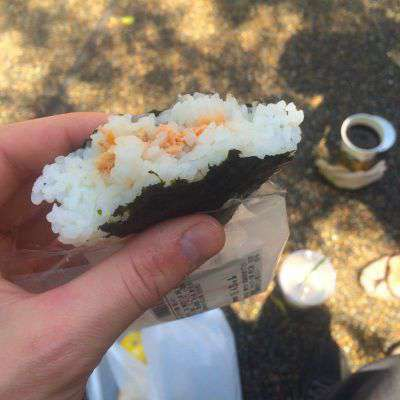 Onigiri rice balls make the perfect Japanese picnic
